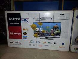 "One Of The Best 42""Sony^Super Bright Led's Rs.27,000/."