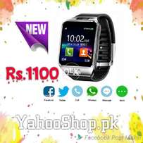 Smart Mobile Watch DZ09 With 4 GB SD Card & Bluetooth Ear Phone