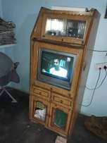 Brown Wooden TV trolley f... for sale  Kharar