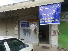 Beautiful office for travel agent and rent a car & others business