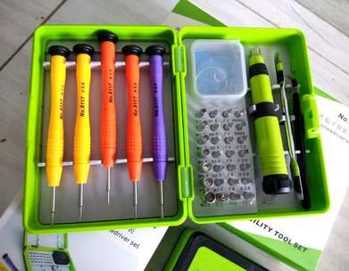 Obeng 36 set+Toolkit For iphone all series/Macbook/smartphone/Laptop
