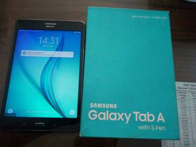 samsung gal tab A with s pen