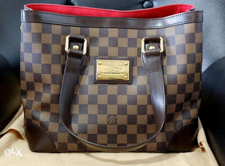 3b88108c725f Louis Vuitton LV Damier Ebene Hampstead PM in Pasig