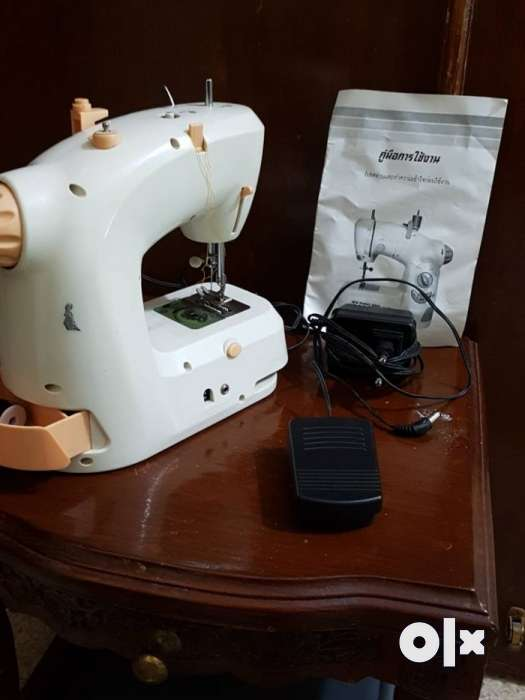 Brand New Thailand Made Electronic Sewing Machine With Foot Padel Cool Sewing Machine Thailand