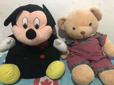 Mickey Mouse Dan Teddy Bear