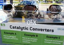 Catalytic converter Repairing and Clean up