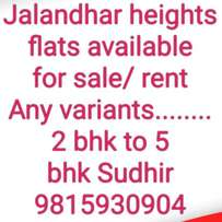 Jalandhar heights flats a... for sale  Jalandhar