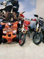 Shine color full quad ATV bikes 4 wheeler for sell deliver all pak.