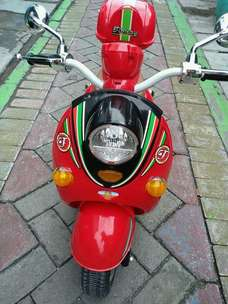 Motor aki anak model scoopy