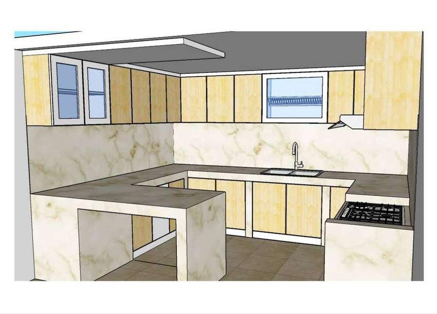 Design Kitchen Set Waldrobe Lovelling Tempat Tidur Mebel 783226563