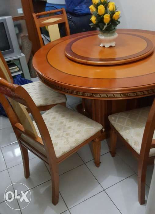 Furniture Dining Table Solid Nara