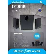 Speaker Simbadda CST 3000 N - NEW EDITION
