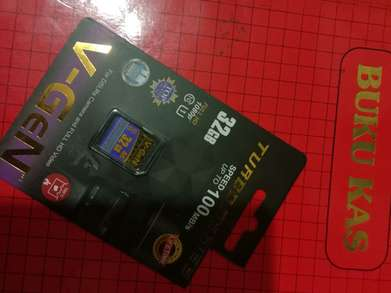 Di jual memory kamera V-Gen 32GB TURBO SERIES speed up to 100mb/s