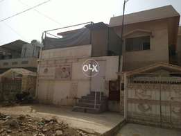 2 bed portion on first floor in North nazimabad block L