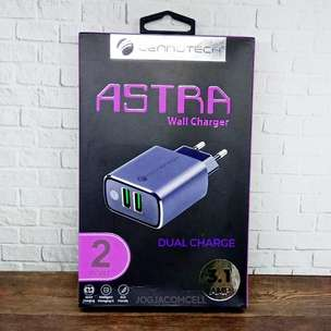 Kepala Charger Cennotech Astra 2 Port USB 3.1 A
