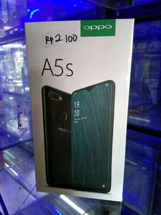 jual oppo A5s Ram 3/32 black & red