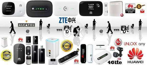 Unlock online ur all 3g 4g wingle mifi donge routers f0r all