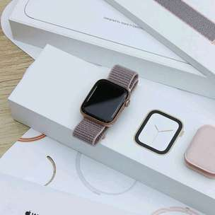 IWatch Series 4 Sport 44mm Rose Loop Kredit Proses Cepat