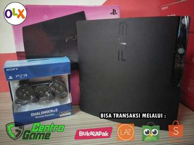 PS3 Slim C / F / W hardisk 500GB Bebas Request Hingga 25Game