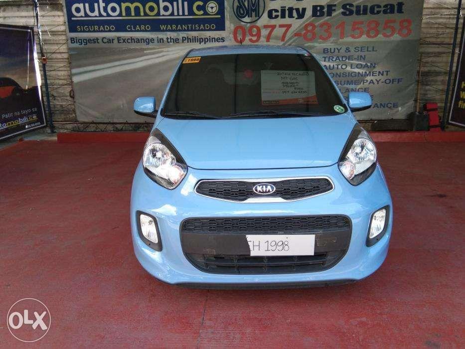 a9a79d01d2 2017 Kia Picanto Blue MT Gas - Automobilico Sm City Bicutan in Las ...