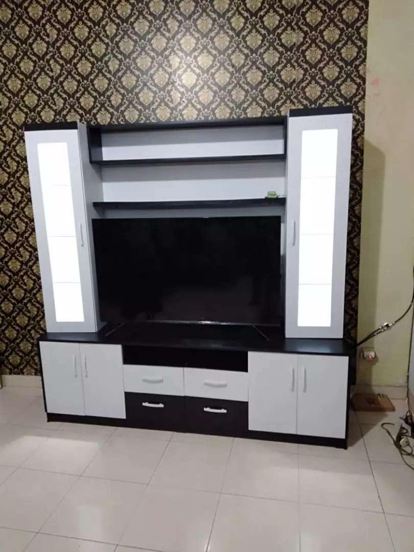Meja Rak Tv Modern Minimalis Pesan Pembayaran Bisa Cod Mebel 801879586