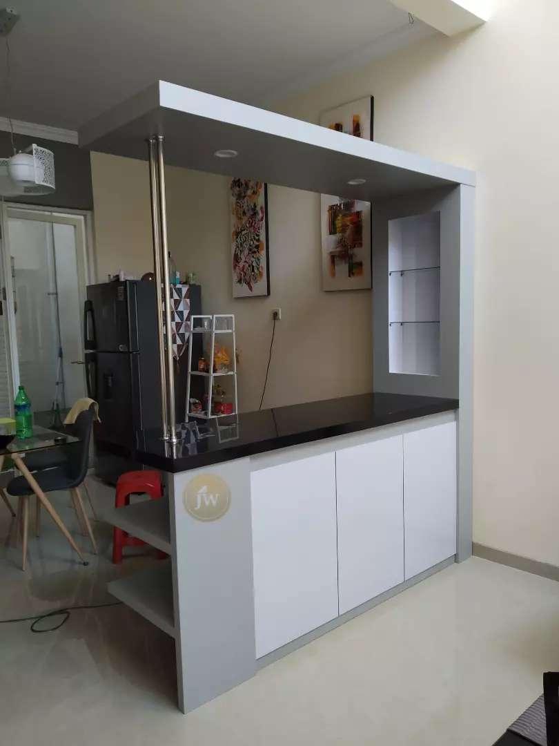 Meja Mini Bar Kitchen Set Ekonomis Mebel 781449794 Harga meja mini bar