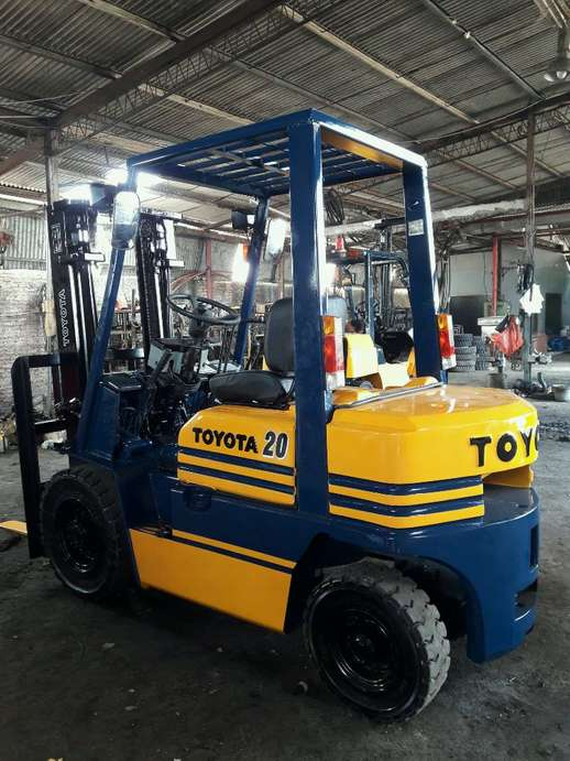 forklift toyota 2 ton manual th 98 engin 1Z