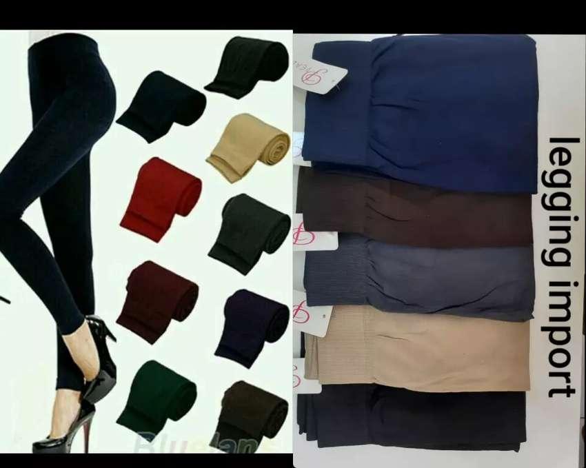 Celana Legging Import Fashion Wanita 800478688
