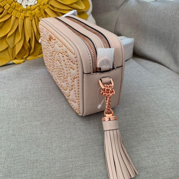 b716de71a Michael Kors Small Rose Studded Leather Camera Bag in Parañaque ...