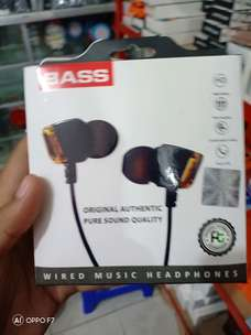 Headset stereo FT01/Handsfree pure sound bagus kak