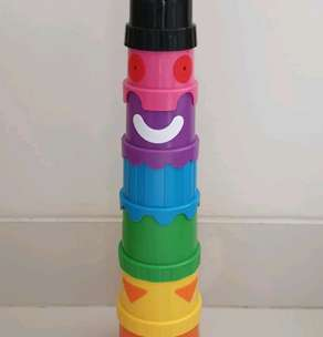 Stacking Cup 9 pcs High Quality