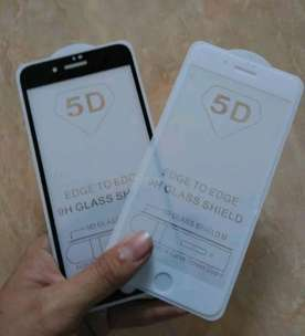 Free antar, Tempered glass full 5D iphone