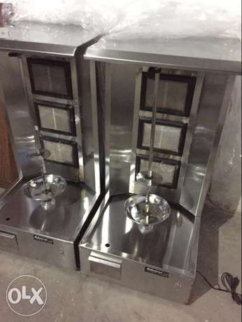 Shorma machine with Hot plate NEW at factory price