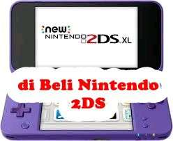 Cari Nintendo 2DS XL Second