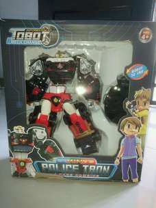 Tobot POLICE TRON 4 cars combine