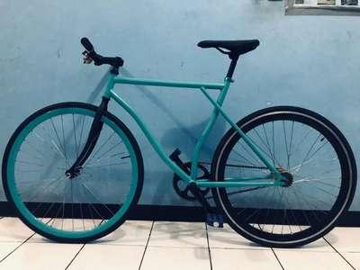 Sepeda Fixie Briu Full Modifikasi Sepeda Aksesoris 802395404