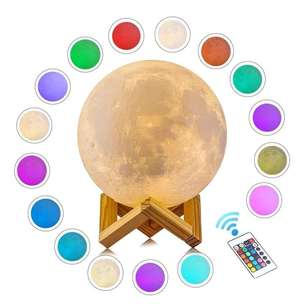 moon lamp terang