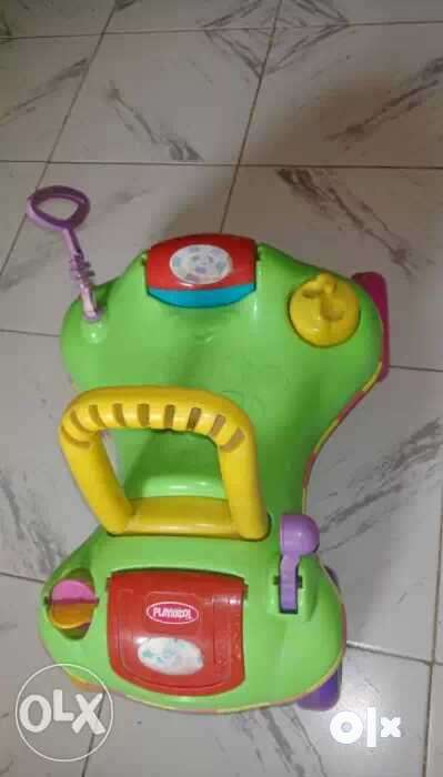 a6e8f9d87 Playskool Step Start walk n Ride include 2 toys - Spare Parts ...