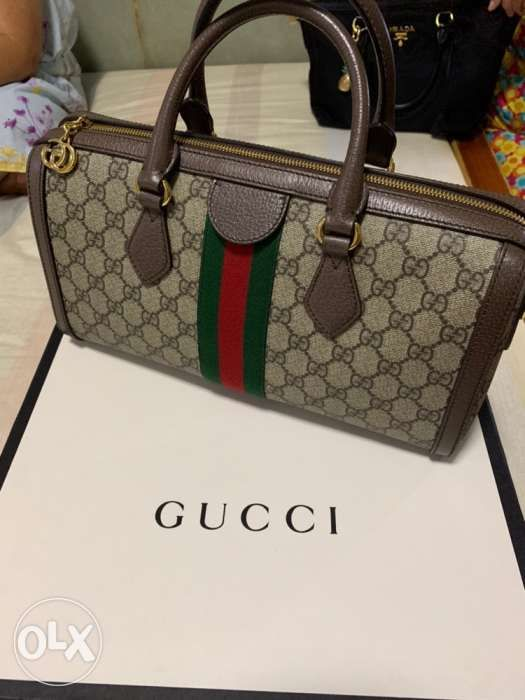 e21794d8d1d Authentic Gucci Ophidia GG medium top handle bag with gucci receipt ...