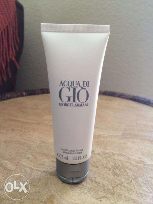 4e37f0dc582e Acqua Di Gio By Giorgio Armani 25oz 75ml After Shave Balm For Men ...
