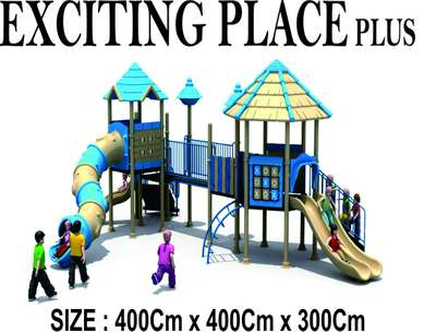 Viral Exciting Place Plus Mainan Anak Outdoor