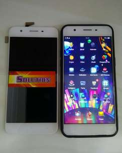 lcd touchscreen Oppon A57 Putih Hitam #SOLUTION