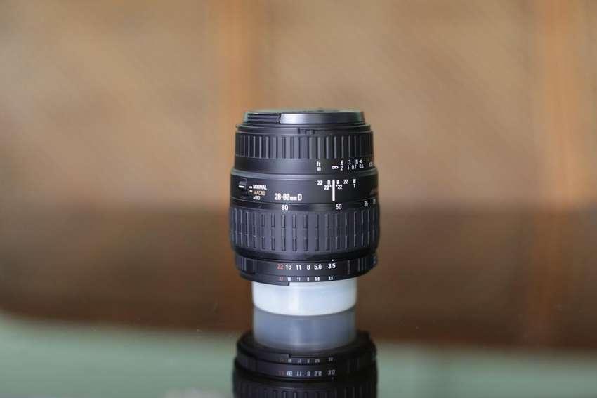 Jual Lensa Sigma 28 80mm 1 3 5 5 6 Macro Aspherical For Nikon Fotografi 773704394