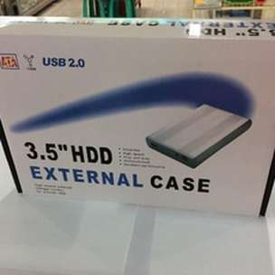 New 3.5 HDD External Case Hardisk Komputer