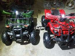 specially made atv quad for disable person 4 wheel bike deliver pak