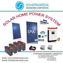 5kva Solar System with 4000 watts solar panels l O33353O2578