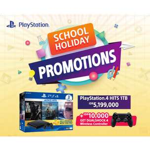 PS4 Bundle Hits 1Terra CUH 2218 Termyurah GRS SONY INDO 2 years
