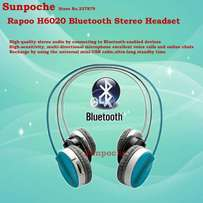 Rapoo Headset Fashion Bluetooth Blue-H6020 FREE Delivery