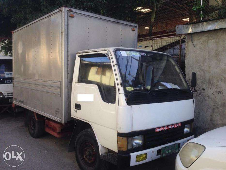 9861934309 RUSH SALE 1988 Mitsubishi Canter 10 ft Closed Van 4d30 Php199000 Only ...