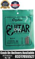 Electric guitar strings Set Orphee High Quality Brand New